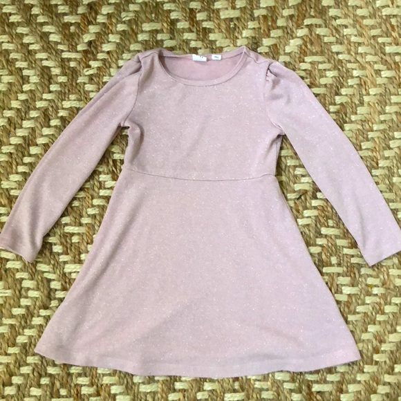 Gap Kids pink sparkly dress